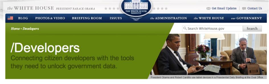 obama developers